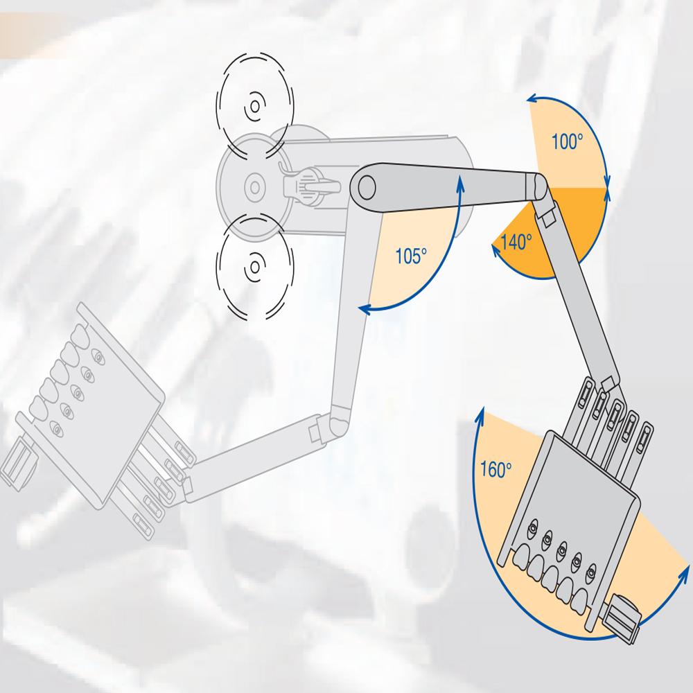 Фото - Fedesa Coral NG Lux - ультракомпактная стоматологическая установка с нижней/верхней подачей инструментов   Fedesa (Испания)
