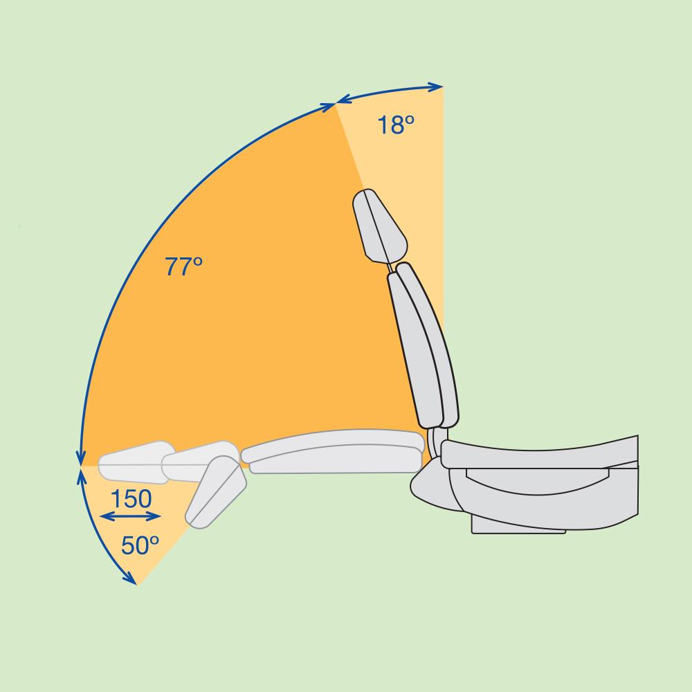 Фото - Fedesa Coral Air - ультракомпактная стоматологическая установка с нижней/верхней подачей инструментов   Fedesa (Испания)
