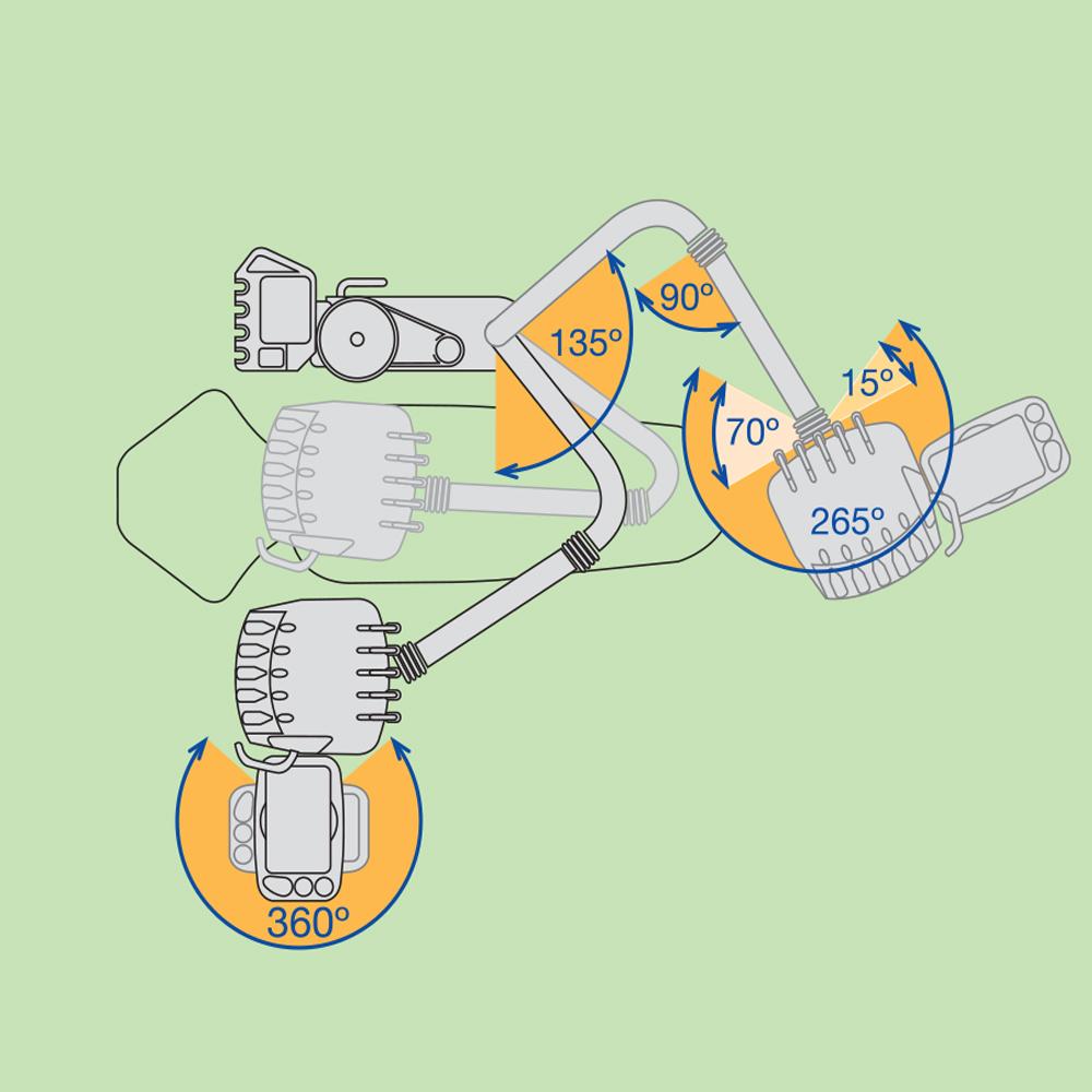 Фото - Fedesa Midway Lux - ультракомпактная стоматологическая установка с нижней/верхней подачей инструментов | Fedesa (Испания)