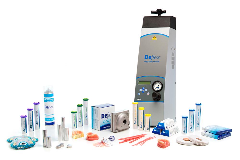 Фото - Deflex Integra 300 - автоматическая микроинжекционная машина для изготовления зубных протезов   Nuxen (Аргентина)