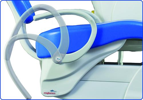Фото - Nice Touch - стоматлогическая установка с нижней/верхней подачей инструментов | Miglionico (Италия)