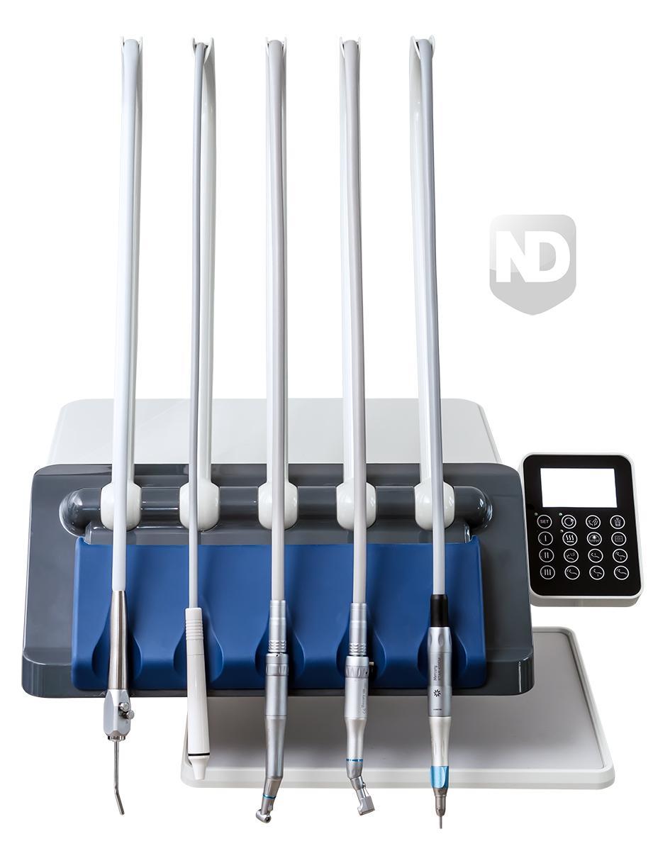 Фото - WOD550 - стоматологическая установка с верхней подачей инструментов   Woson (Китай)