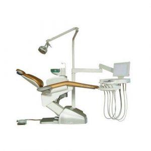 Фотография Hallim Challenge Ever - стоматологическая установка с нижней подачей инструментов | Hallim Dentech (Ю. Корея)