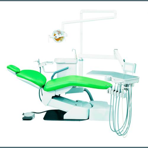 Фото - Hallim Eclipse - стоматологическая установка с нижней подачей инструментов | Hallim Dentech (Ю. Корея)