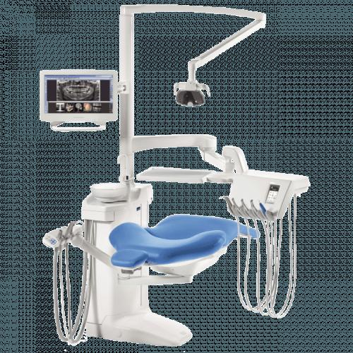 Фото - Planmeca Compact i Touch - стоматологическая установка с сенсорной панелью и сухой аспирацией   Planmeca (Финляндия)