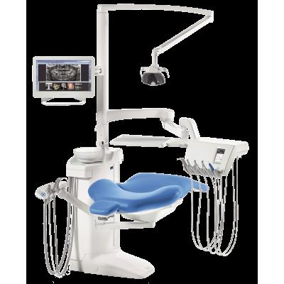 Фото - Planmeca Compact i Touch Multimedia - стоматологическая установка с сенсорной панелью и сухой аспирацией   Planmeca (Финляндия)