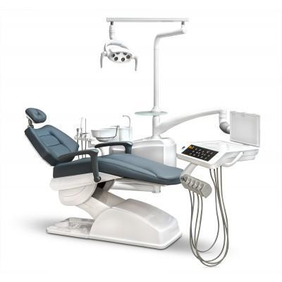 Фотография AY-A 3600 - стоматологическая установка с нижней подачей инструментов и сенсорной панелью   Anya (Китай)