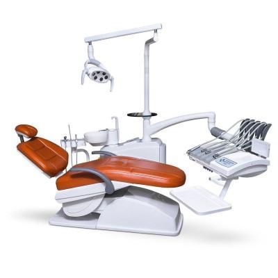 Фотография AY-A 3600 - стоматологическая установка с верхней подачей инструментов   Anya (Китай)