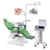 Фотография AY-A 4800 Cart - стоматологическая установка с подкатным модулем врача и сенсорным управлением
