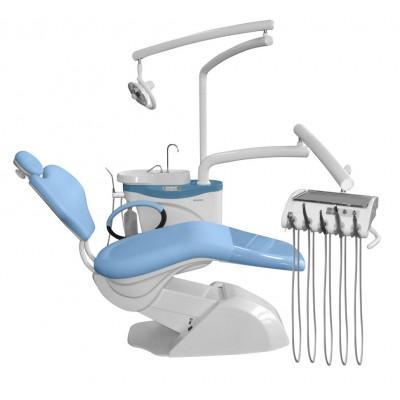 Фотография Chiromega 654 NK - стоматологическая установка с нижней подачей инструментов   Chiromega (Словакия)