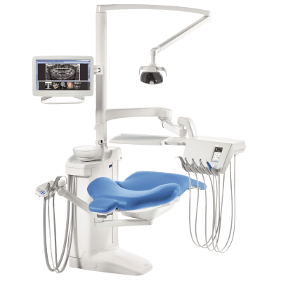 Фотография Planmeca Compact i Touch - стоматологическая установка с сенсорной панелью и сухой аспирацией   Planmeca (Финляндия)