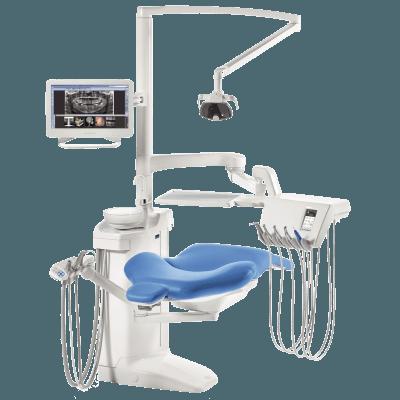 Фотография Planmeca Compact i Touch Multimedia - стоматологическая установка с сенсорной панелью и сухой аспирацией   Planmeca (Финляндия)