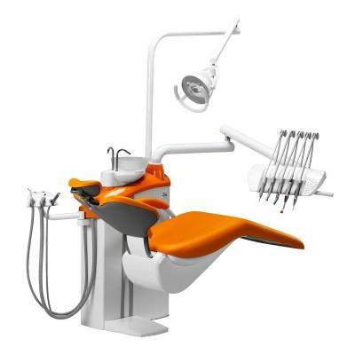 Фотография Diplomat Adept DA170 Special Edition - стоматологическая установка с верхней подачей инструментов