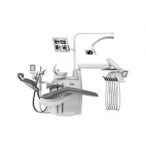 Фотография Diplomat Adept DA380 - стационарная стоматологическая установка с нижней подачей инструментов | Diplomat Dental (Словакия)