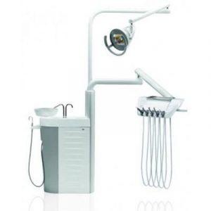 Фотография Diplomat Adept DA110A Special Edition - стационарная стоматологическая установка с нижней подачей инструментов | Diplomat Dental (Словакия)
