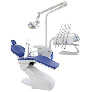Фотография Friend Up - стоматологическая установка с нижней/верхней подачей инструментов | Swident (Швейцария)