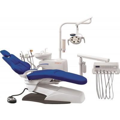 Фотография Geomed 3 - стоматологическая установка с нижней подачей инструментов   Geomed (Китай)