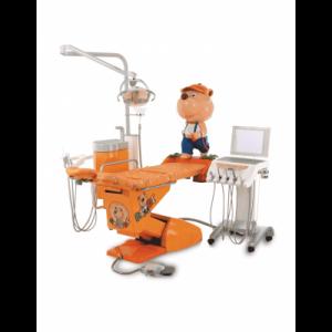 Фотография Hallim Arte - стоматологическая установка с нижней подачей инструментов