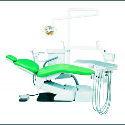 Фотография Hallim Eclipse - стоматологическая установка с нижней подачей инструментов | Hallim Dentech (Ю. Корея)