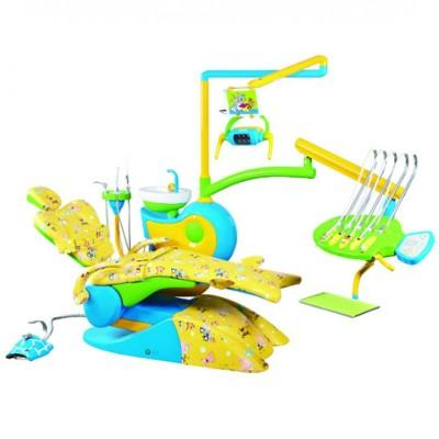 Фотография QL-2028 CD - детская стоматологическая установка с верхней подачей инструментов   Fengdan (Китай)