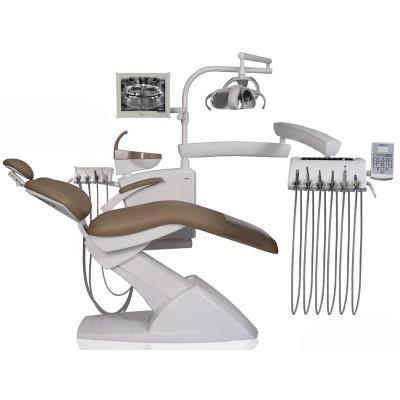 Фотография Stomadent IMPULS NEO2 - стационарная стоматологическая установка с нижней/верхней подачей инструментов