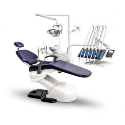 Фотография WOD550 - стоматологическая установка с верхней подачей инструментов   Woson (Китай)