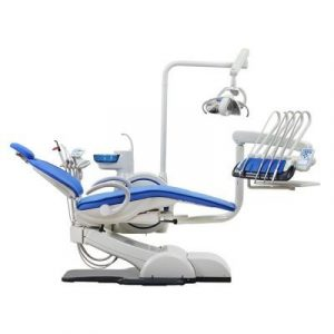 Фотография WOD730 (WOVO) - стоматологическая установка с верхней подачей инструментов   Woson (Китай)