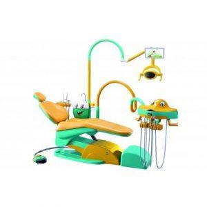 Фотография Valencia 03 M1 - детскаястоматологическая установка с нижней подачей инструментов   Runyes (Китай)