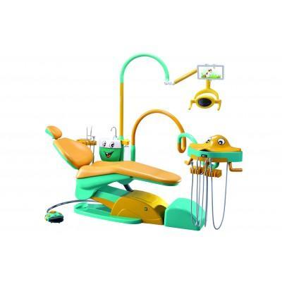 Фотография Valencia 03 M1 - детскаястоматологическая установка с нижней подачей инструментов | Runyes (Китай)