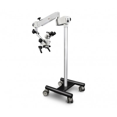 Фото - Прима Д - стоматологический операционный микроскоп с 5-ти ступенчатым увеличением и LED-подсветкой   MedPribor (США - Россия)