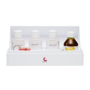Фотография AESTHETIC Color Set Easy Mini - набор для горячей полимеризации с тремя предварительно смешанными цветами | Candulor AG (Швейцария)
