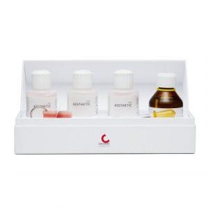 Фотография AESTHETIC Color Set Easy Mini - набор для холодной полимеризации с тремя предварительно смешанными цветами | Candulor AG (Швейцария)