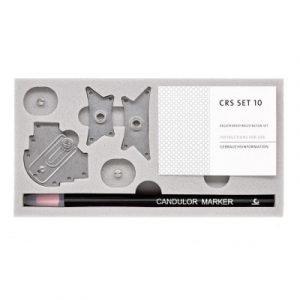 Фотография CRS 10 - набор для внутриротовой записи готического угла при полном съемном протезировании | Candulor AG (Швейцария)