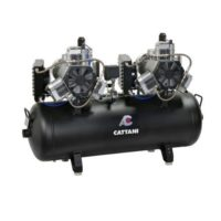 Фотография Cattani 150-330 - безмасляный стоматологический компрессор для CAD/CAM