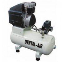 Фотография Dental Air 1/24/3-C - безмасляный воздушный компрессор с дополнительным звукоизолирующим сборным кожухом (100 л/мин) на 1 установку | Werther Int. (Италия)