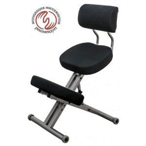 Фотография Smartstool KM01BМ без чехла — металлический коленный стул со спинкой