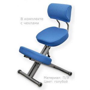 Фотография Smartstool KM01BМ с чехлом — металлический коленный стул со спинкой