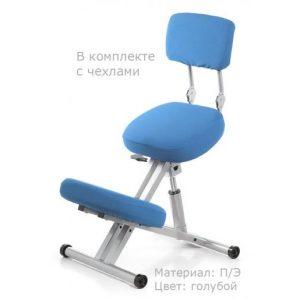 Фотография Smartstool KM01B с чехлом — металлический коленный стул со спинкой