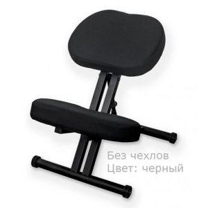 Фотография Smartstool KM01 Black без чехла — металлический коленный стул