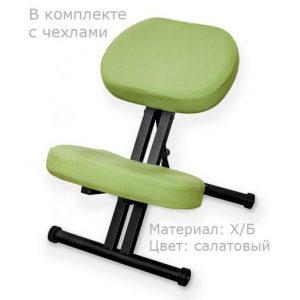 Фотография Smartstool KM01 Black с чехлом — металлический коленный стул