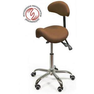 Фотография Smartstool S03B — стул-седло со спинкой