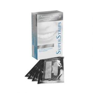Фотография Amazing White Super Stripes - полоски для отбеливания зубов | Amazing White (США)