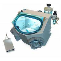 Фотография АСОЗ 5.1 С - компактный пескоструйный аппарат для зуботехнических (керамических) лабораторий с одним струйным модулем | Аверон (Россия)