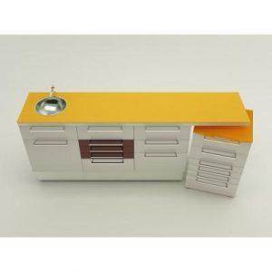 Фотография Bassano  - комплект мебели для хранения стоматологических инструментов