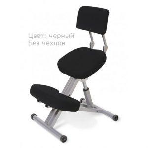 Фотография Smartstool KM01B без чехла — металлический коленный стул со спинкой (с газлифтом)