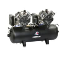 Фотография Cattani 100-215 - безмасляный стоматологический компрессор для CAD/CAM