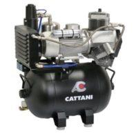 Фотография Cattani 45-165 - безмасляный стоматологический компрессор для CAD/CAM