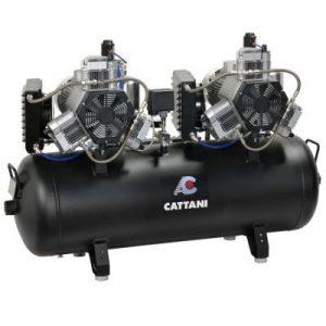 Фотография Cattani 300-952 - безмасляный стоматологический компрессор для 16-ти стоматологических установок