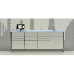 Фотография Dubai  - комплект мебели для хранения стоматологических инструментов