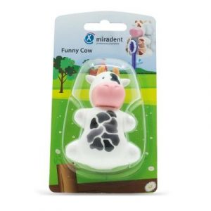 Фотография Funny Cow (Kорова) - гигиенический футляр для зубных щёток с дверками-защёлками   Hager & Werken (Германия)